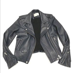 IRO 'Hanaspe' Leather Moto Jacket